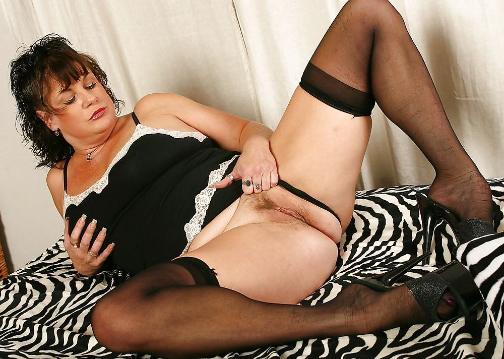 Sultry Mature Brunette