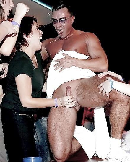 Big booty male stripper
