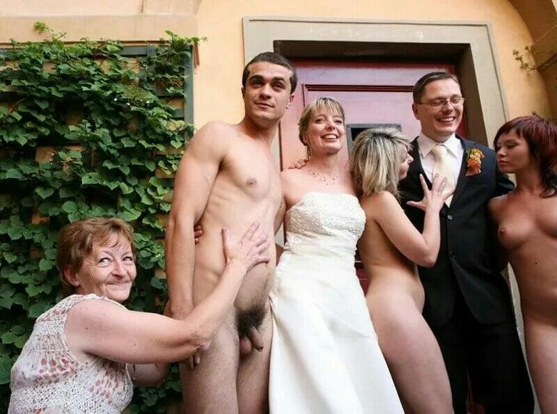 сам невесты и женихи без трусов ведь
