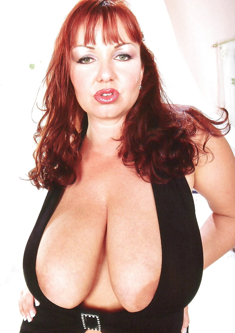 Redhead big boobs nude-3063