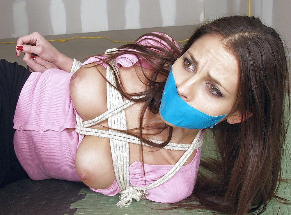Girl next door bondage