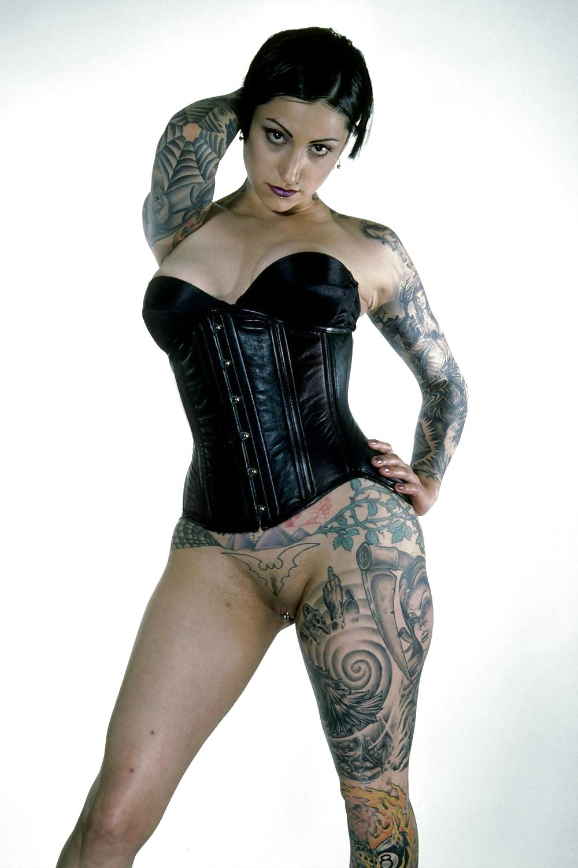 Naked tattoo goth, girls sexy women fuck photo