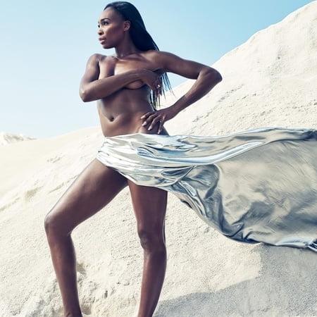 Venus nackt Williams Serena Williams,
