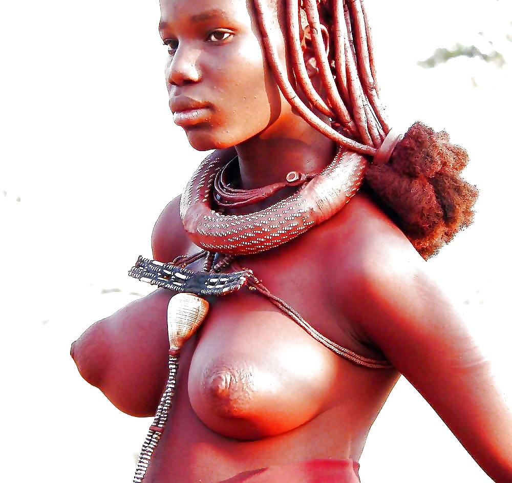 Big black naked tit woman