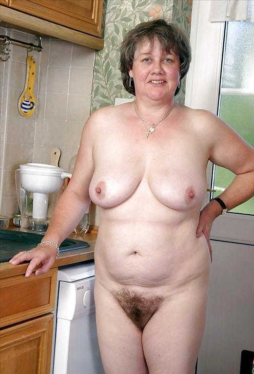 Hairiest grannies nude #3