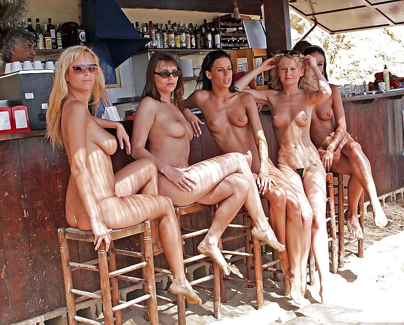 Nude sexy group milf #2