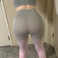 Bubble Butt In Gym Clothes