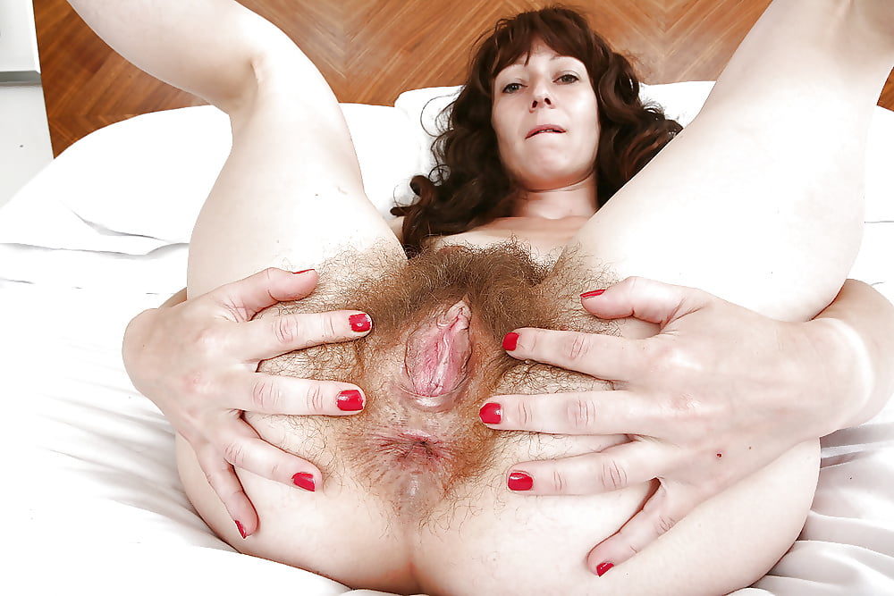 Hairy ass pussy