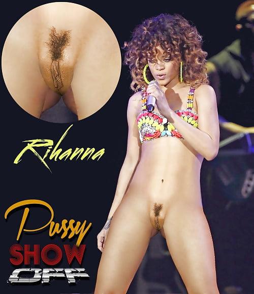 Real image of rihanna naked vagina