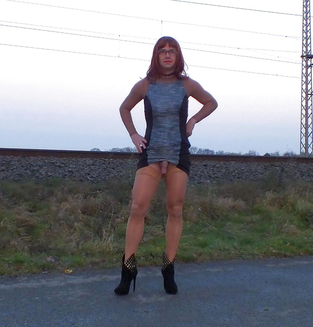 upskirt outdoor Pantyhose