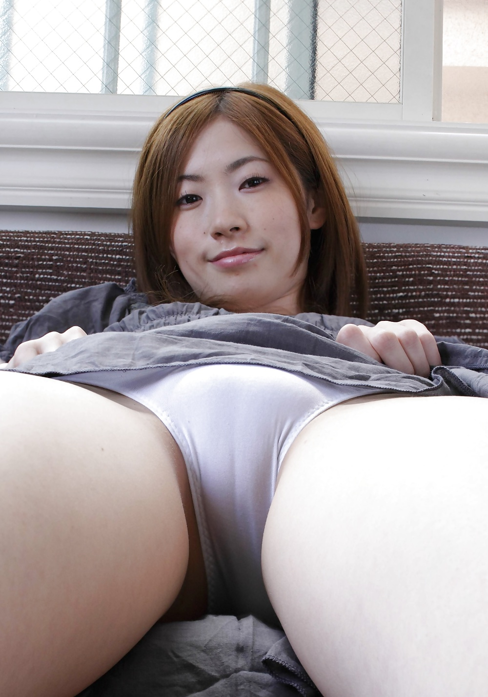 Upskirt asian panties