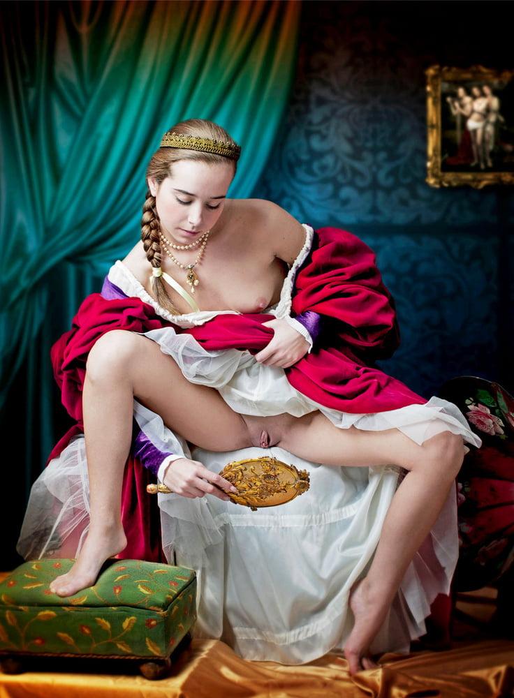 в средневековых платьях порно звезды фото должны были