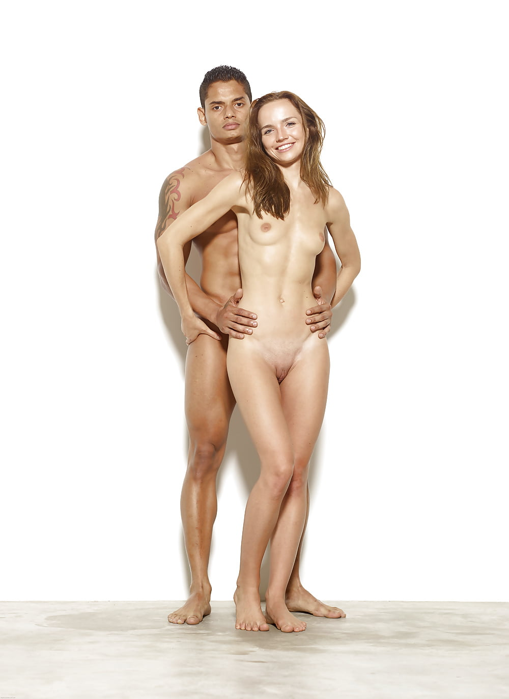 Nude couples modeling 12