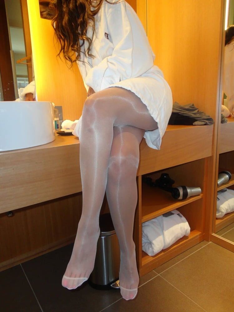 white-support-pantyhose