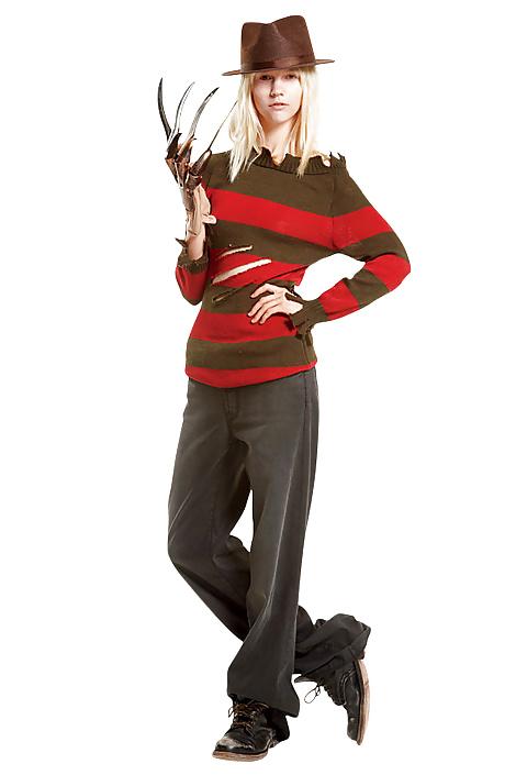 Female freddy krueger costume