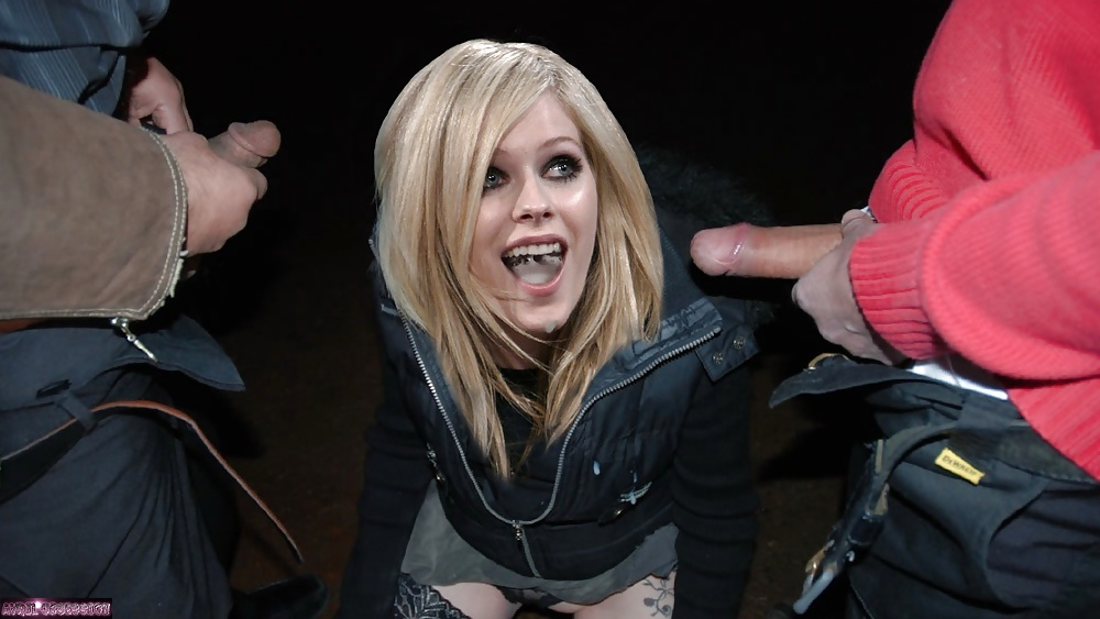 See And Save As Cum On Avril Lavigne Tribute Porn Pict