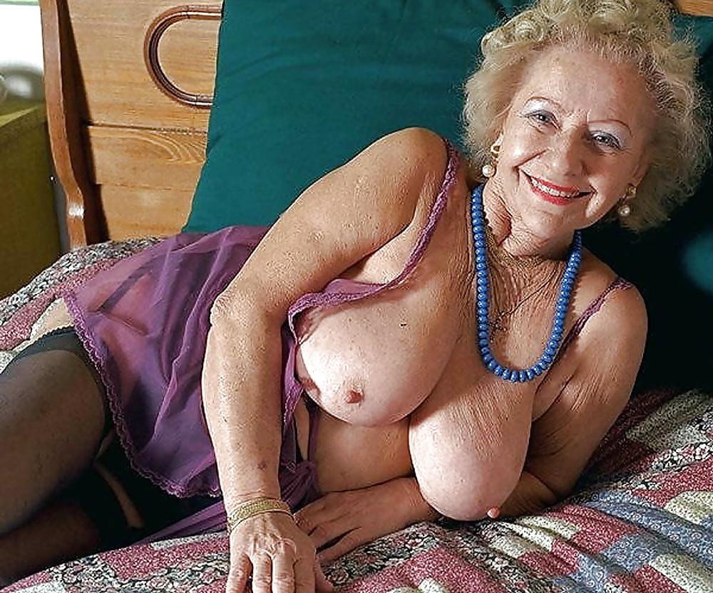 Granny flirt