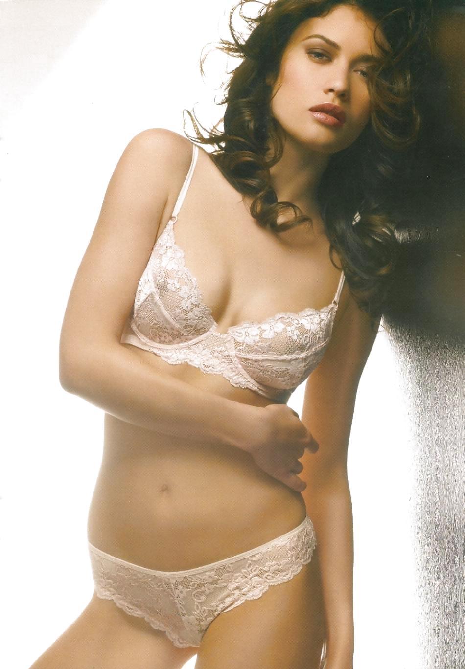 Bond girl white bikini