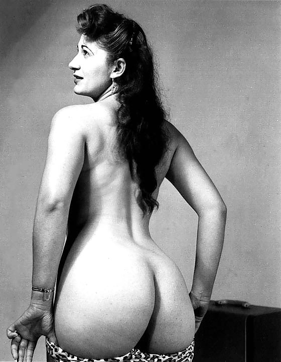 Vintage nude women butts