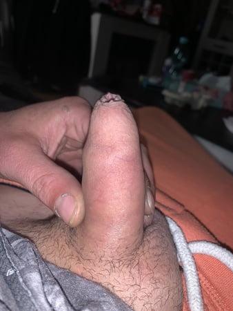 Nackt steif penis nackt und