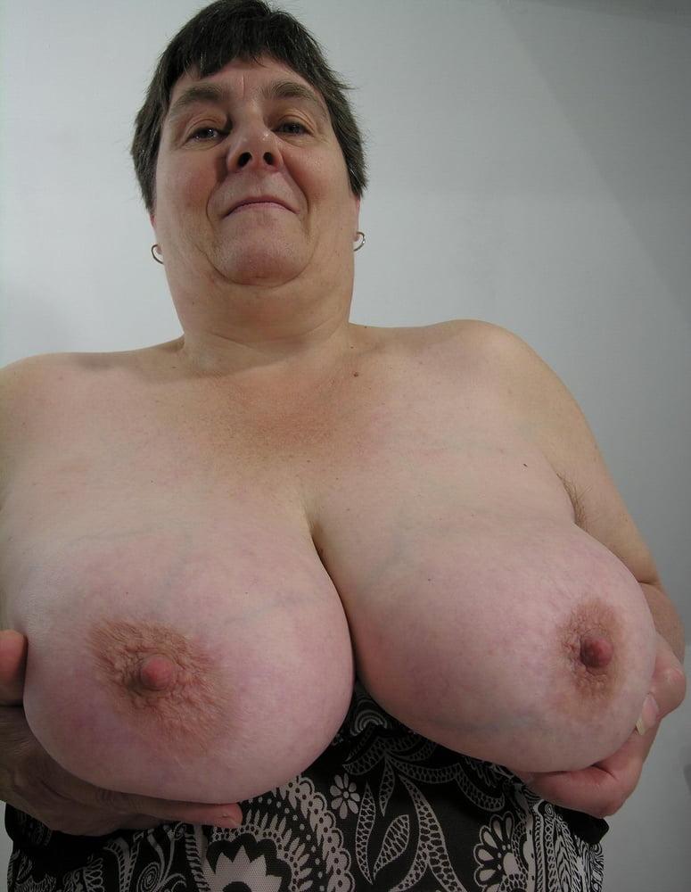 Biggest granny tits #1