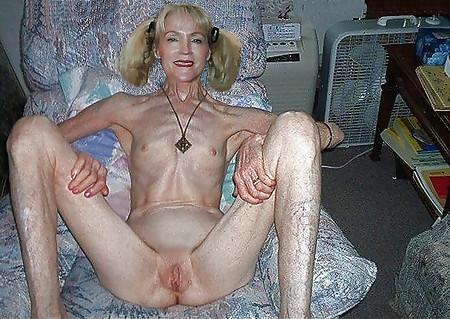 skinny blonde oma