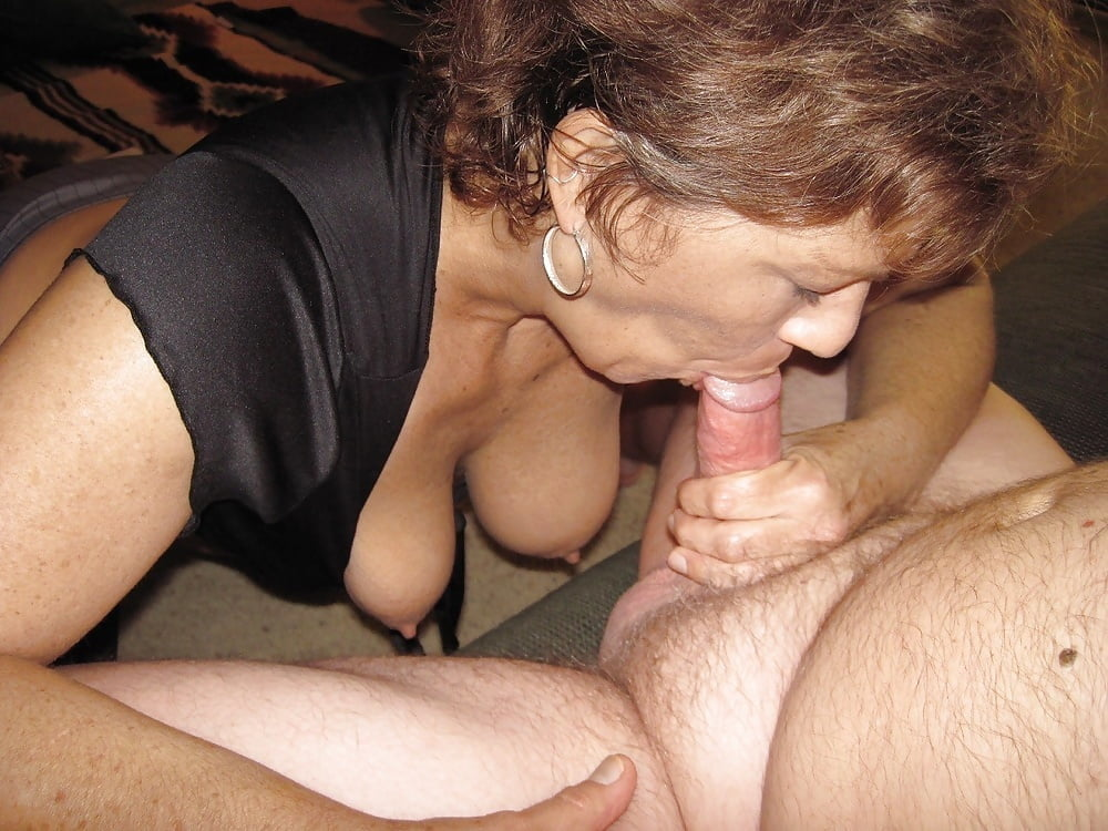 Amature wife blowjob