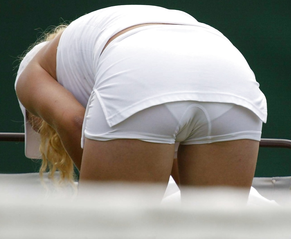 Tennis pussy slip hot images