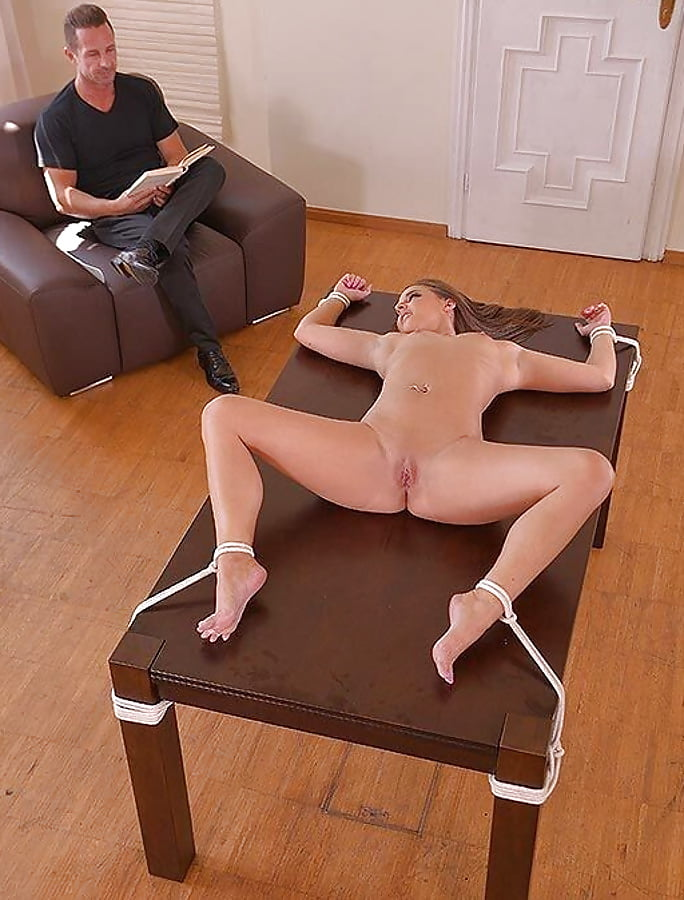 Tied to table dildo, tonya harding hot nude
