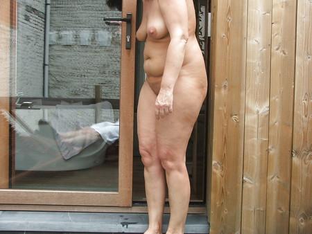 naked outside