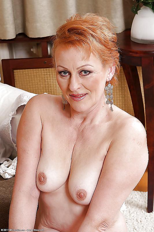big-older-redhead-woman