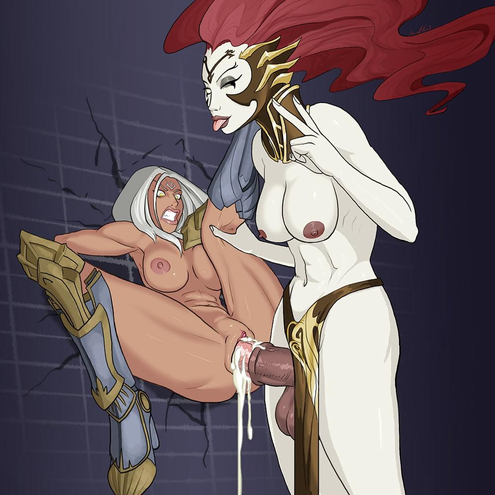 порно комикс дарксайдерс