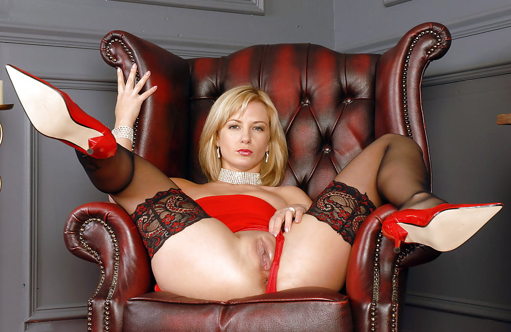 Kayden kross pussy spread stockings