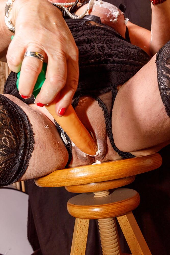 Frauenpenis Mosen Pantyhose Gloryhole