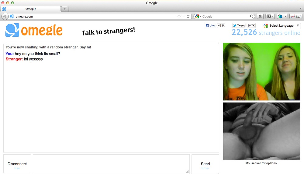 Omegle Chat With Topless Girl