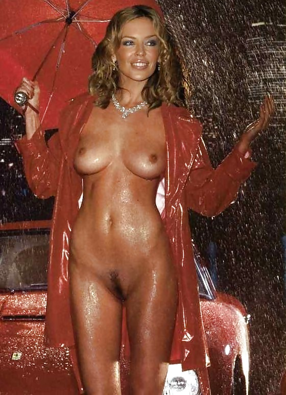 Kylie minogue naked bottom