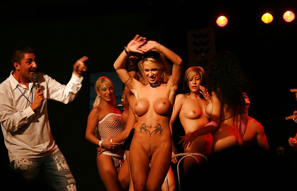On Stage Porn Photo