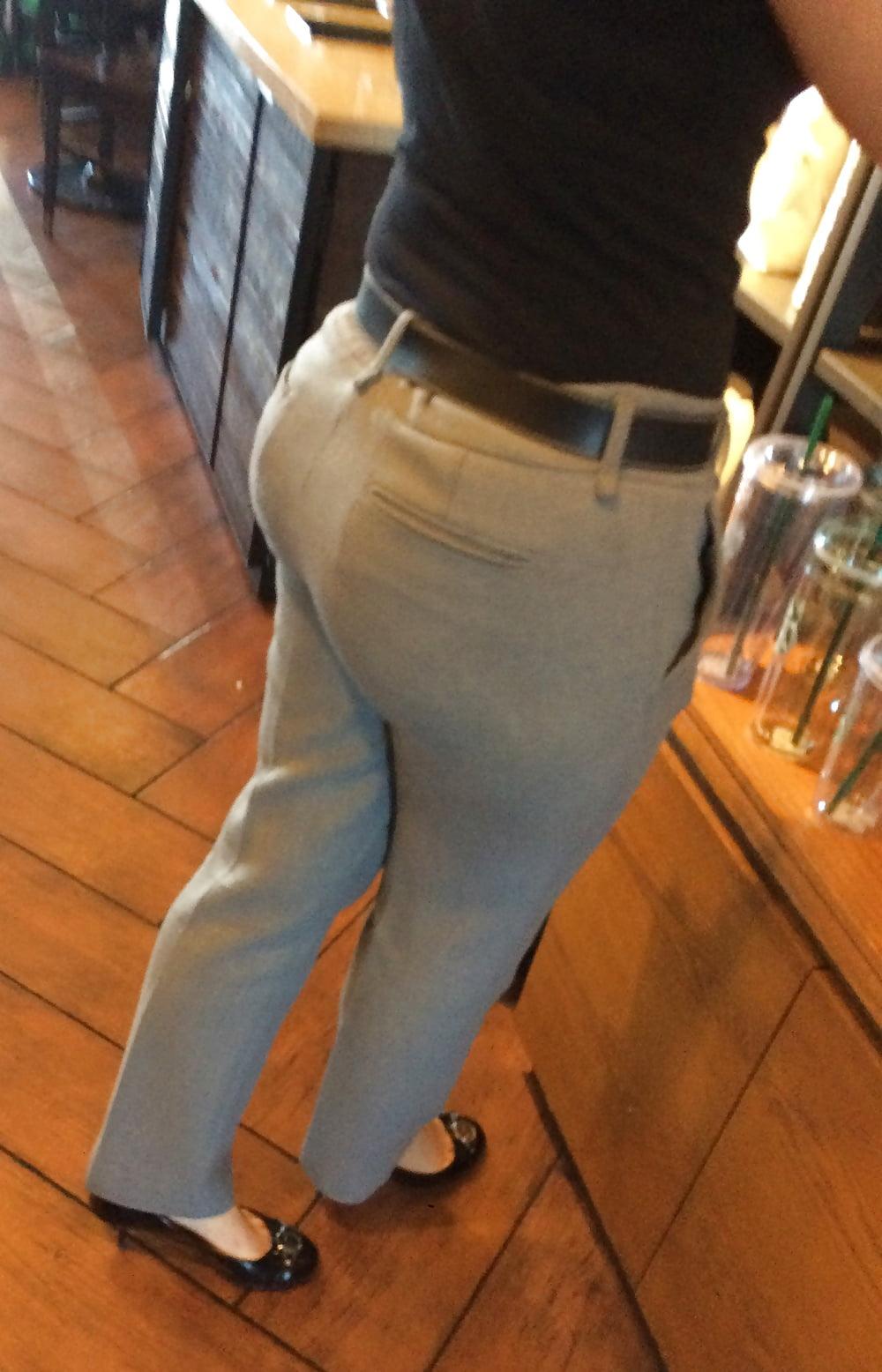 Bubble butt pants