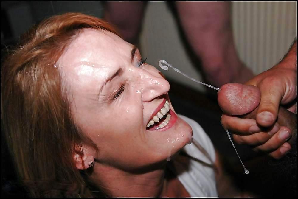 выстрелы спермы в лицо фото своим партнерам