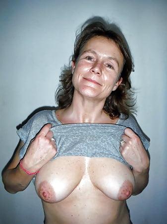 Mature aunt tits