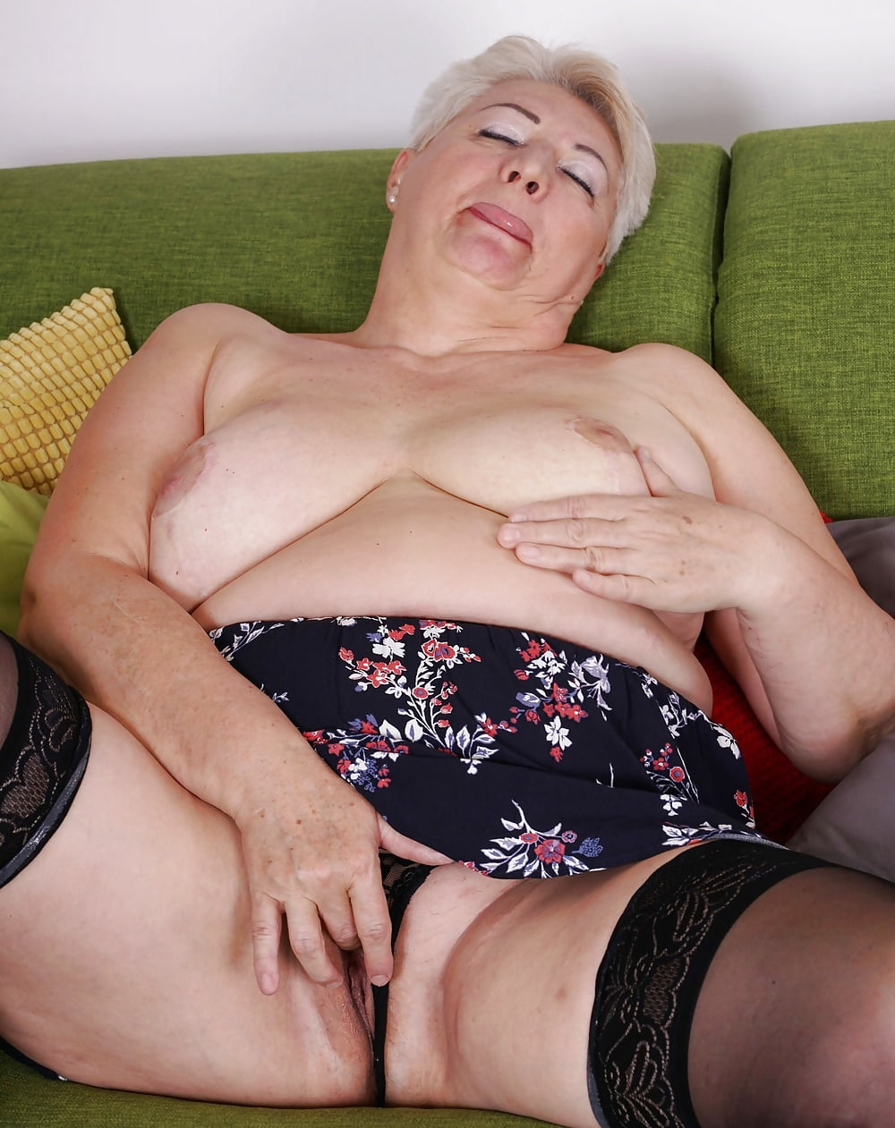Glamorous Granny Fingering Herself Picture