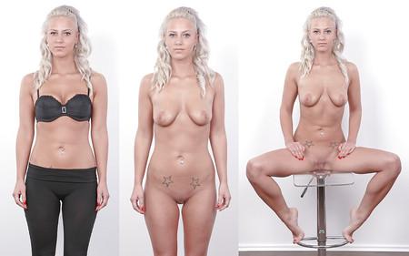 dressed undressed (blonde )