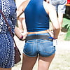 British Denim Shorts