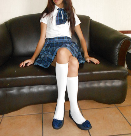 Petite Latina Schoolgirl