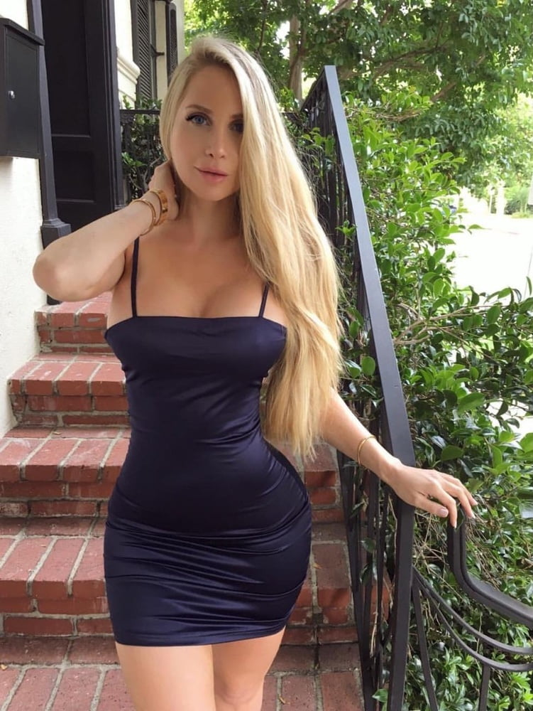 Sexy girls in tight dresses with big tits wife fucks
