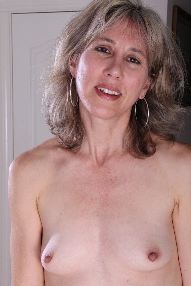 Small tits mature nude women