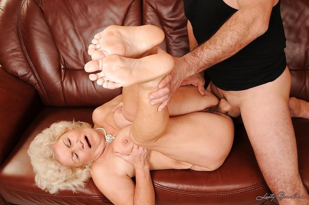 Pretty granny feet