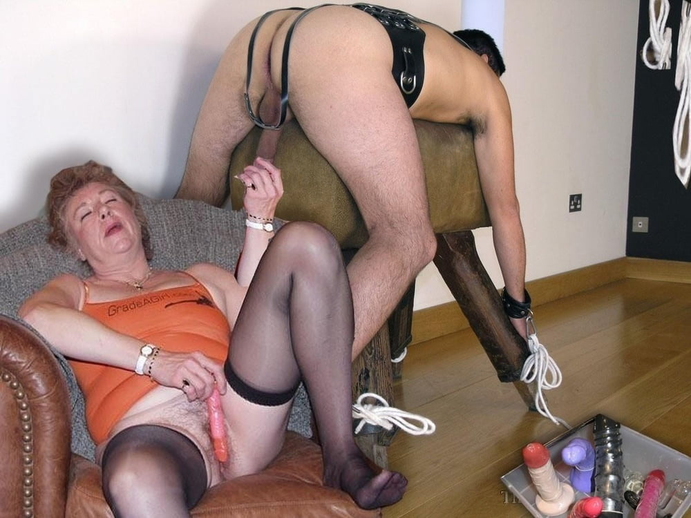 Clubtug granny handjob
