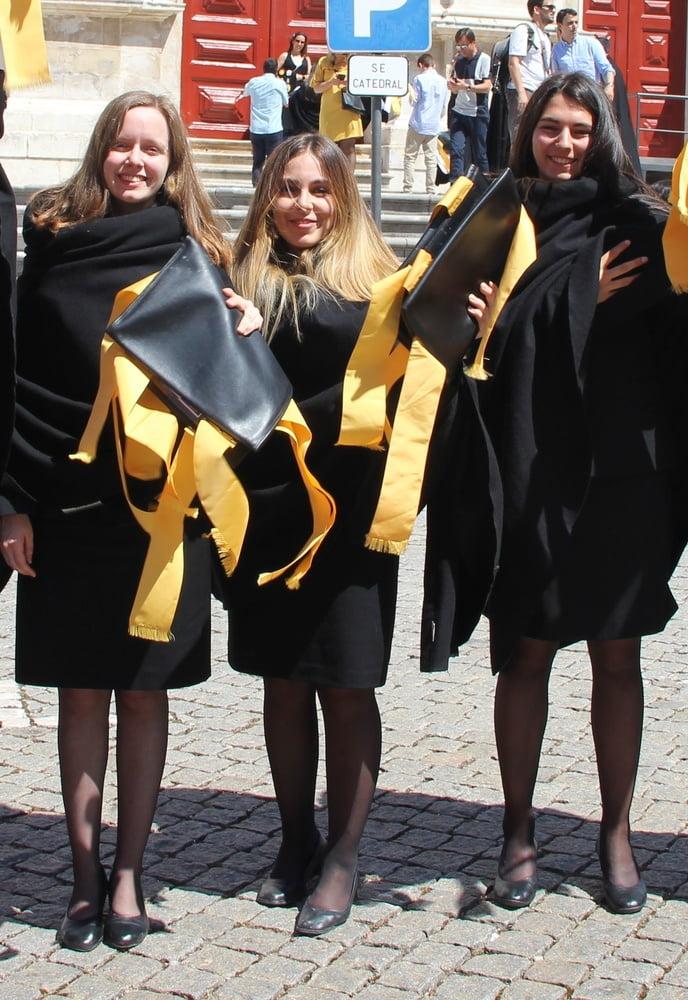 Women in black pantyhose-9496