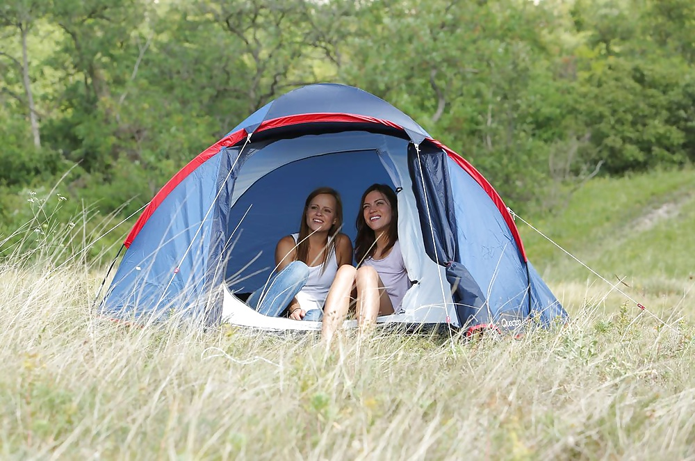 Lesbian camp counselors trick - 1 4